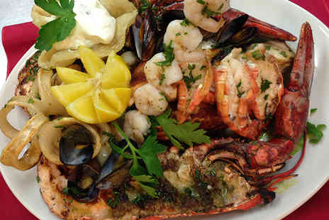 Tuttobene restaurant - Seafood Platter with Lobster and Optional Prosecco for Two - Save 48%