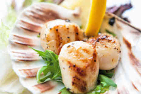 No 11 Brunswick - Two Course Meal with Sparkling Wine for Two - Save 58%