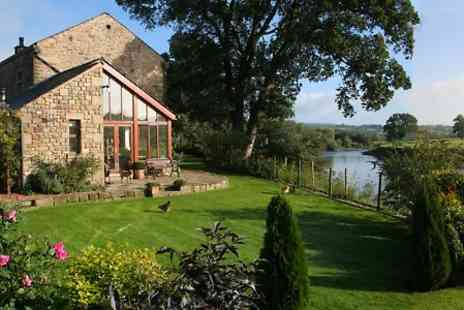 Riverside Barn - Two or Four Nights stay For Two With Luxury Breakfast Hamper  - Save 40%