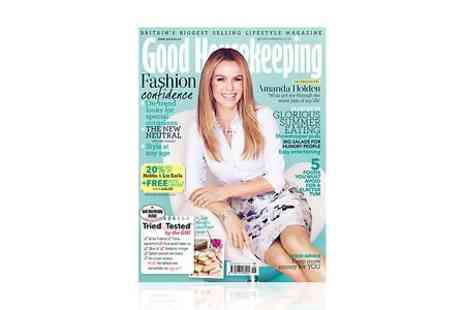Hearst Magazines  - 12 Month Good Housekeeping Magazine Subscription With Free Delivery - Save 59%