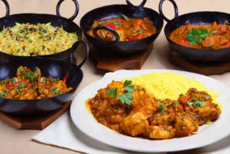 Massala Hut - £8 for a slap up Indian feast plus a drink worth up to £23.10 - Save 65%