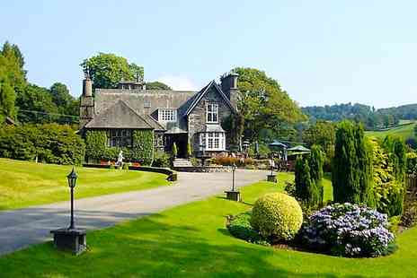 Broadoaks Country House Hotel - One Night stay For Two With Breakfast, Dinner, Cream Tea  - Save 0%