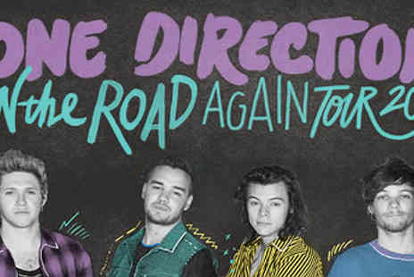 Omega Holidays PLC - Manchester coach trip to see One Direction Live - Save 32%