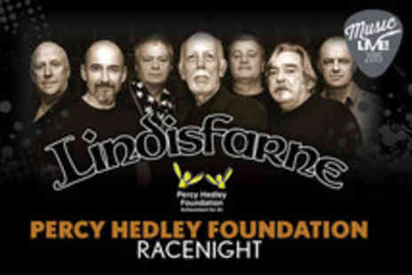 Newcastle Racecourse - Race night with Lindisfarne - Save 25%