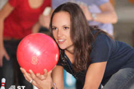 1st Bowl Nottingham - Three games of bowling for two people - Save 50%