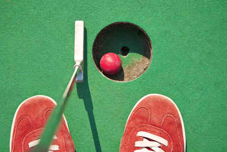 19 Bar and Grill  - 18 holes of crazy golf and lunch for Two   - Save 50%