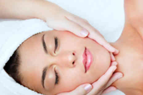 Glamor Hair & Beauty - Facial, Mani or Pedi and a Back, Neck & Shoulder Massage - Save 69%