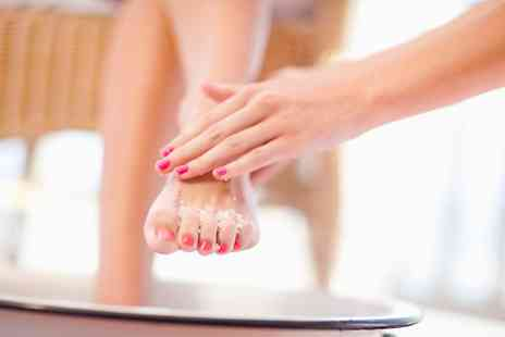 LB Nails & Beauty - Full Manicure Callus Peel Pedicure - Save 33%