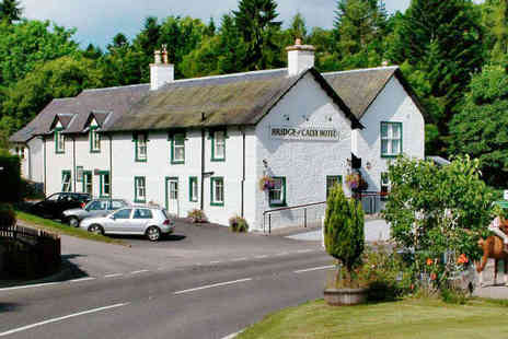 Bridge of Cally Hotel - One or Two Night Stay for Two with Breakfast, Scones with Tea or Coffee on Arrival, and Late Checkout  - Save 54%