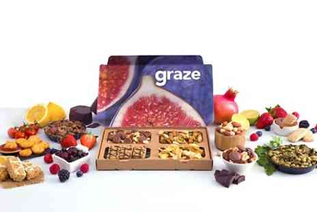 Graze - Graze Box Delivery Subscription Graze Snack Boxes with Free Delivery - Save 64%