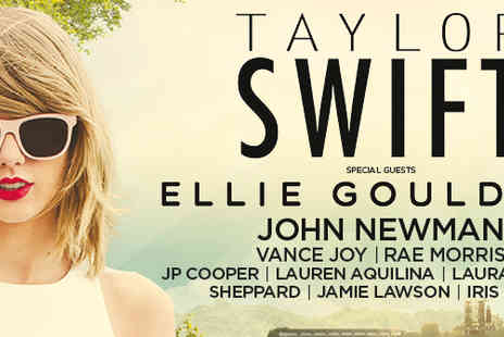Omega Holidays PLC - Two tickets to see Taylor Swift Live  - Save 35%