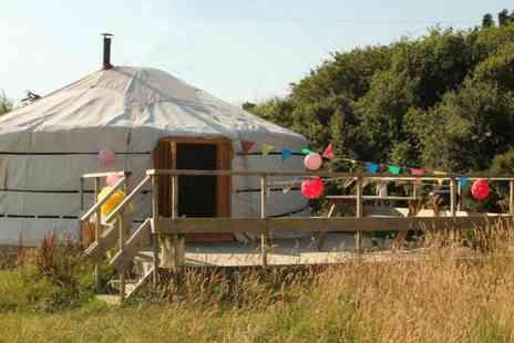 Koa Tree Camp - Two nights glamping on the Devon coast  - Save 52%