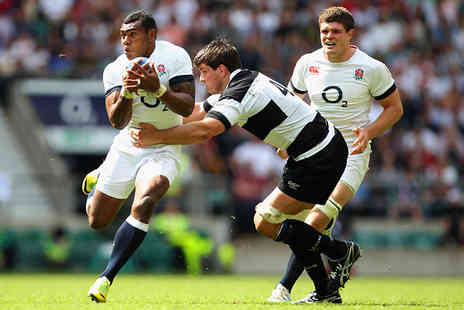 Rugby Football Union - Tickets to England XV vs. Barbarians on Sunday 31st May 2015  - Save 50%