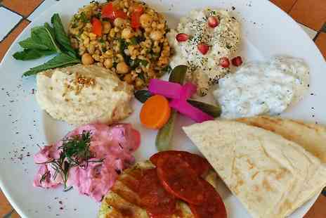 Cafe Lavanta - Meze and Dessert With Coffee For Two - Save 49%