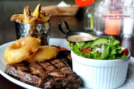 THE INN  - 10oz Sirloin or Rib Eye Steak with Chips for Two   - Save 0%