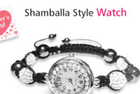 Gifts4U- Beautiful Shamballa Style Watch - Save 70%
