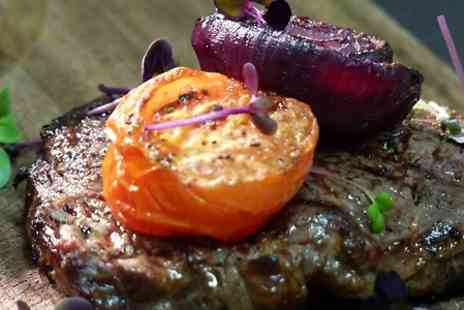 AM:PM - Steak Meal and Prosecco For Two - Save 0%