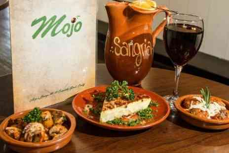 Mojo Lounge - Tapas and Wine For Two - Save 48%