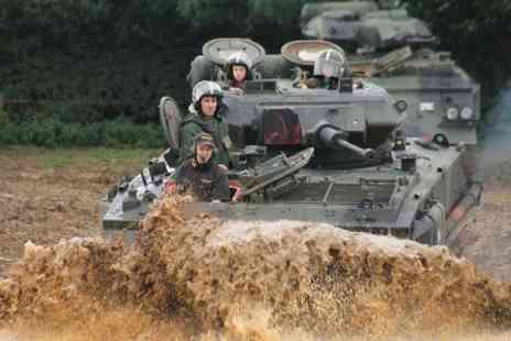 Armourgeddon - Tank Driving Experience or Tank Paintball Battle - Save 0%