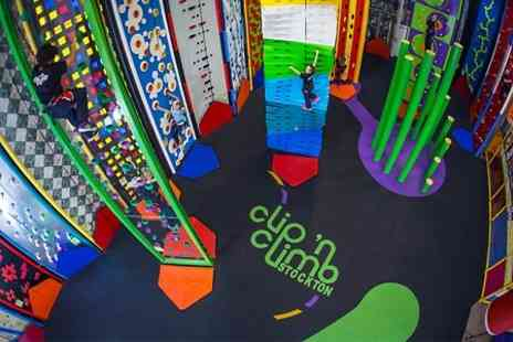 Clip n Climb - Indoor Climbing For Children  - Save 25%
