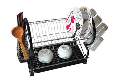 Verage Group - Two Tier Dish Drainer - Save 72%