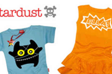 Stardust Kids - Voucher to spend at award-winning online clothing store - Save 50%