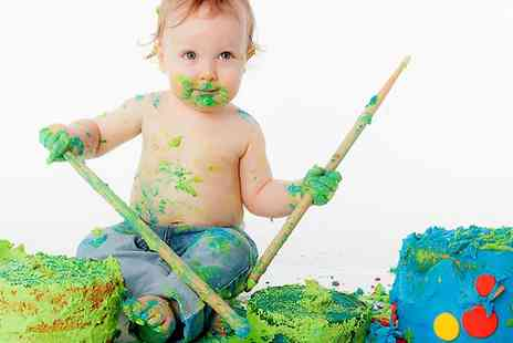 Seven Springs Studios - Cake Smash Photoshoot and Bubble Bath  - Save 0%