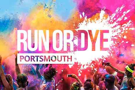 Run Or Dye - Entry to Run or Dye 5k Colour Run Early Bird With Goody Bag  - Save 20%