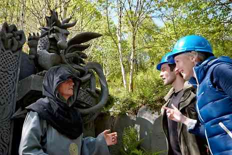 King Arthurs Labyrinth -  Tour and Hot Drink For One Adult ,Child or Senior  - Save 47%