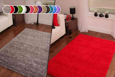 Your Essential Store -  60cm x 110cm shaggy rug - Save 67%