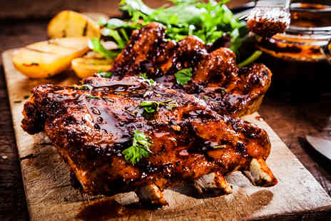 Bar Sports  - Half a rack of ribs and a Carlsberg each for two  - Save 36%