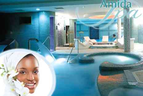 Amida Spa Beckenham - £20 Relaxing Spa Day with Elemis Booster Facial - Save 77%