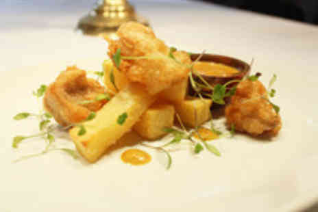 Mandeville Hotel - British Five Dish Tasting Menu with a Bottle of Wine for Two  - Save 43%