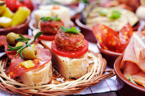 Loves - Traditional Tapas to Share with Wine for Two  - Save 49%