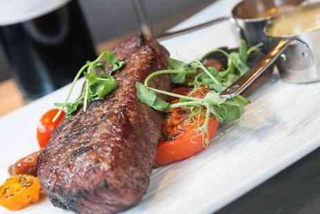 The Bridge Street Lounge - Two Course Steak Meal With Bellinis For Two - Save 58%