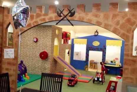 Jollytots & Cookies - Play Entry and Lunch For Two, - Save 0%