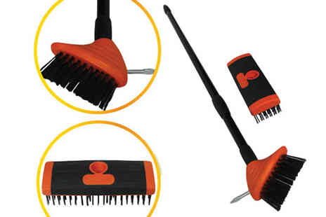 Verage Group - Three in one Telescopic Brush Patio Cleaning Set - Save 64%