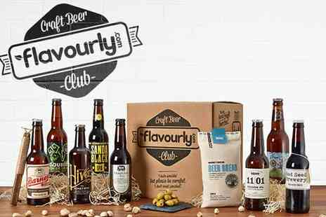 Sevenly Media - Personalised Craft Beer Box with 8 Beers - Save 0%