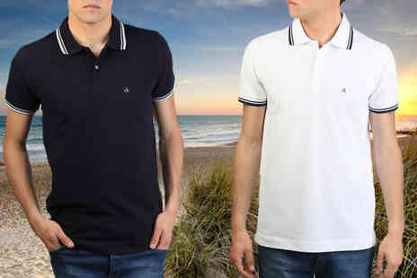 Intriangle Solutions - Calvin Klein Mens Polo Shirts - Save 44%