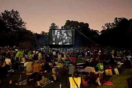 Backyard Cinema - Outdoor Screening of Labyrinth For Two  - Save 50%
