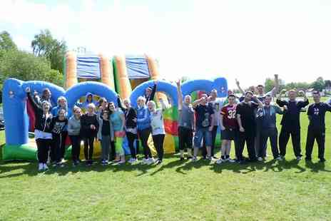 All Star Action Days - Its a Knockout Style Event Entry For Four  - Save 51%