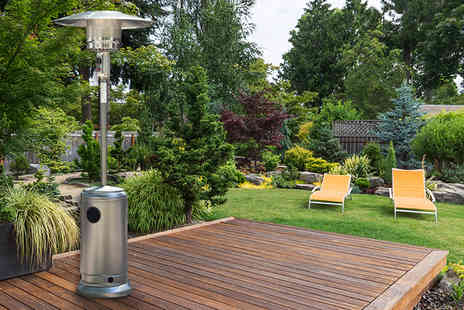 Oypla - Free standing gas patio heater  - Save 0%