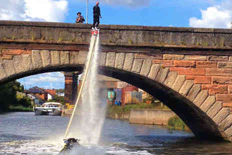 FlyBoardFun - FlyBoarding Experience for One  - Save 27%