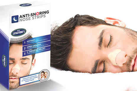 Lutaevono - Anti Snoring Nose Strips  - Save 74%