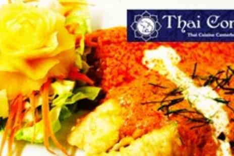 Thai Corner - Two Courses of Thai Fare For Ten People - Save 60%