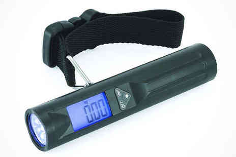 MyMemory - Portable Digital Travel Luggage Scale with 8 LED Torch, Delivery Included - Save 0%