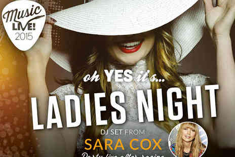 Uttoxeter Racecourse - Ladies Night at The Races plus DJ Set - Save 26%