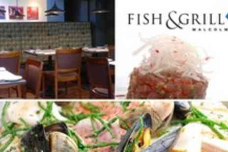 Fish & Grill - Seafood Mixed Grill For Four - Save 55%