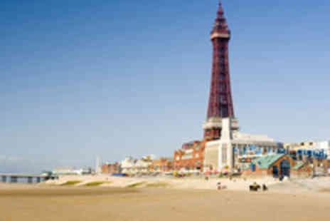 Leverdale Hotel - Two or Three Night Blackpool Beach Break with Wine - Save 44%