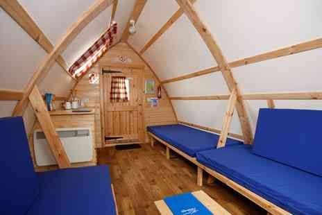 Wooden Wigwams - One or Two Night Wigwam Stay For Up to Five  - Save 0%